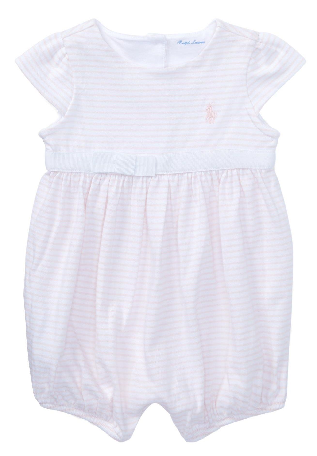 51db299b5b RALPH LAUREN Baby Girl Striped Cotton Jersey Romper 12 Months ...