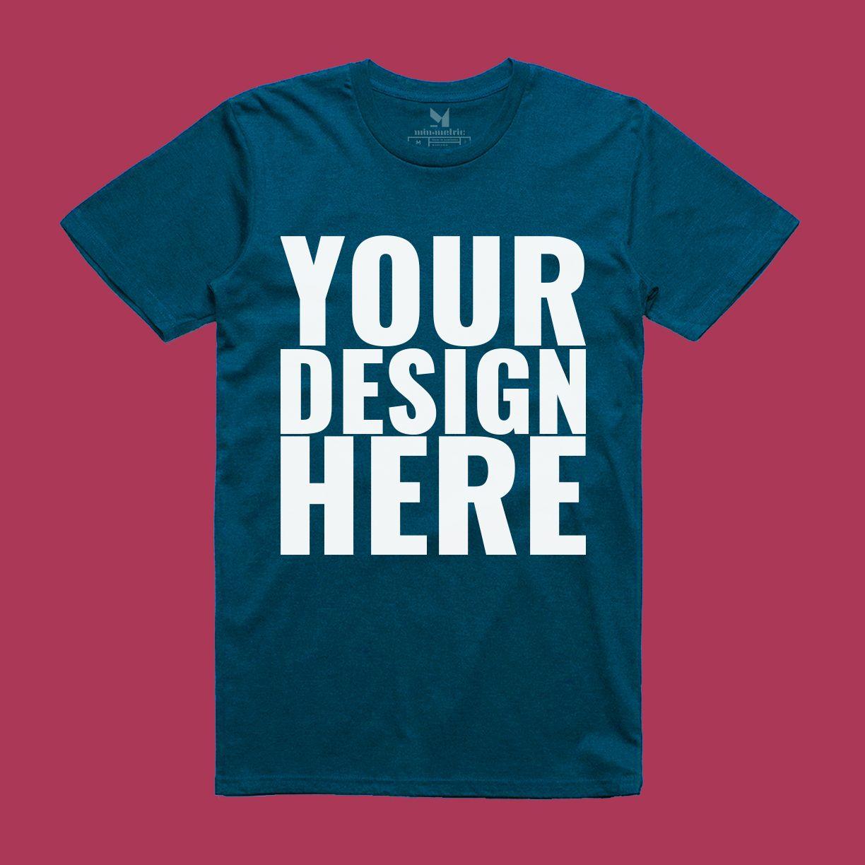 Download Download Realistic T Shirt Mockup Free Psd A Customizable Realistic T Shirt Mockup For Free Download So You Can Dis Shirt Mockup Clothing Mockup Tshirt Mockup