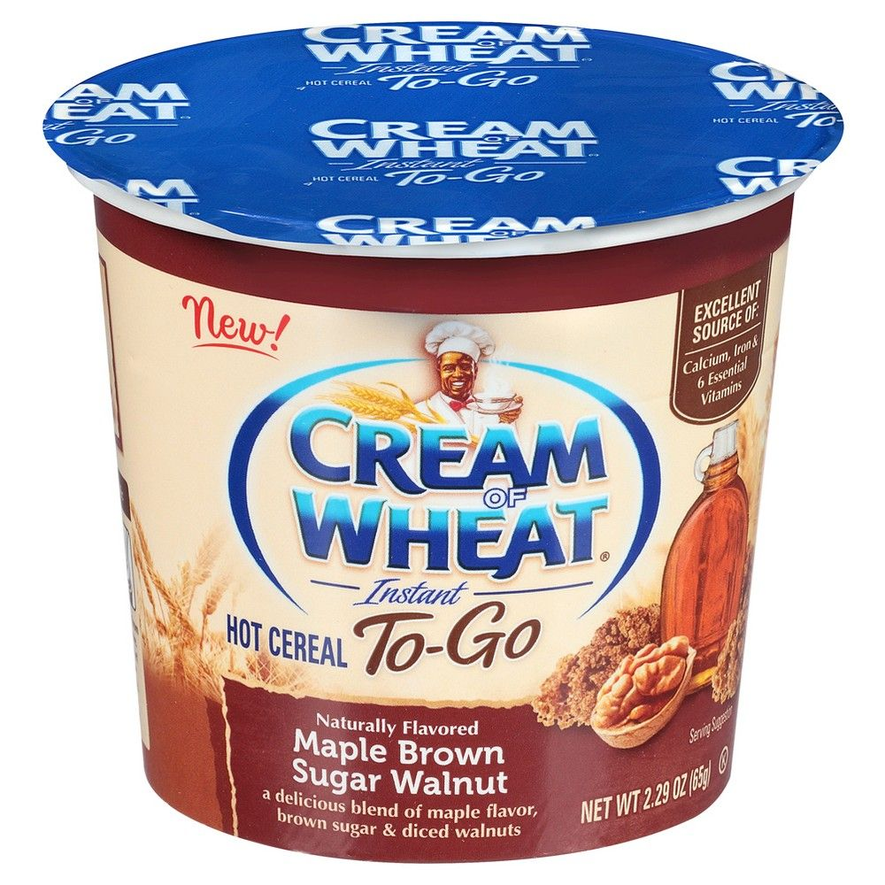 Cream Of Wheat Maple Brown Sugar Walnut Instant Hot Cereal