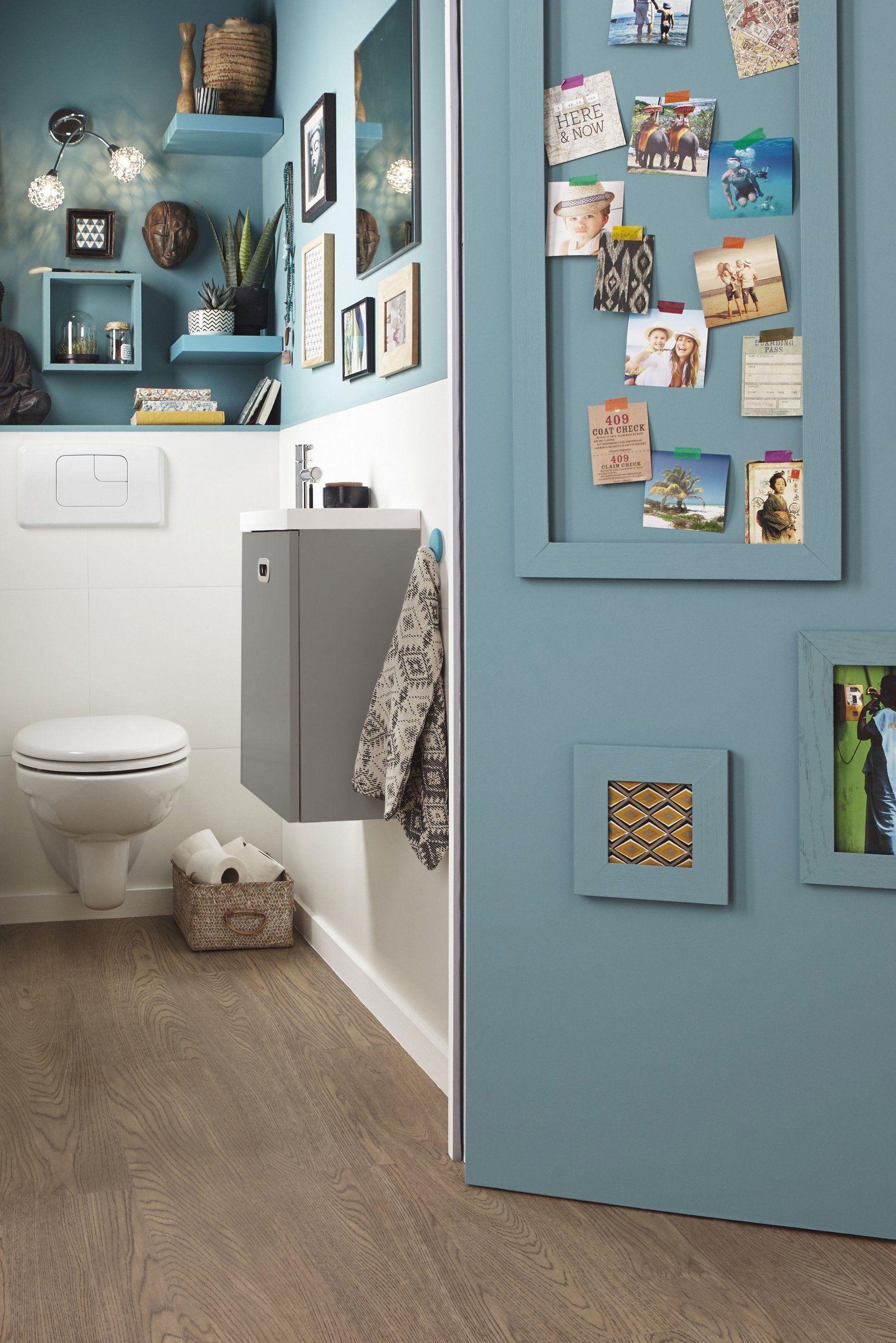 6 idées déco pour réveiller les murs des WC | Déco toilettes, Deco wc original, Decoration wc ...