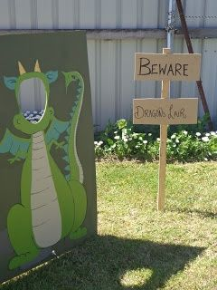 Dragon photo op I think grandma's house needs one of these!
