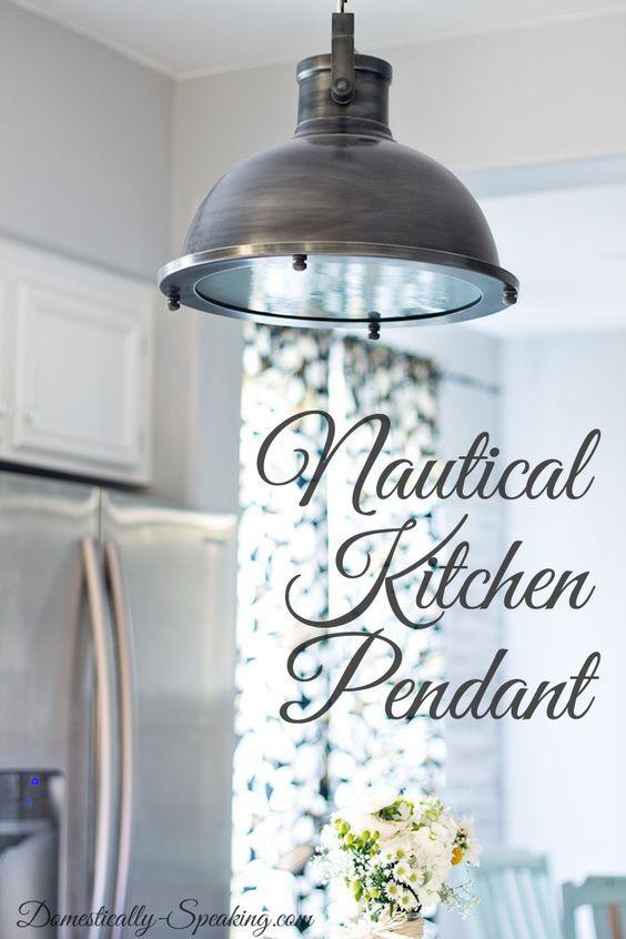 nautical kitchen pendant nautical