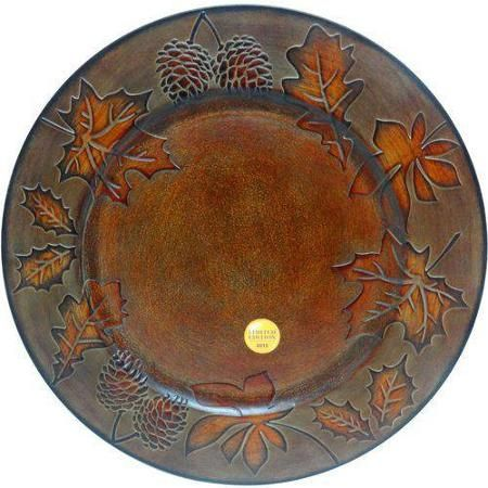 Better Homes And Garden Charger Maple Icon Antique Copper Set Of 6 Walmart Com Better Homes And Garden Better Homes Gardens Antique Copper