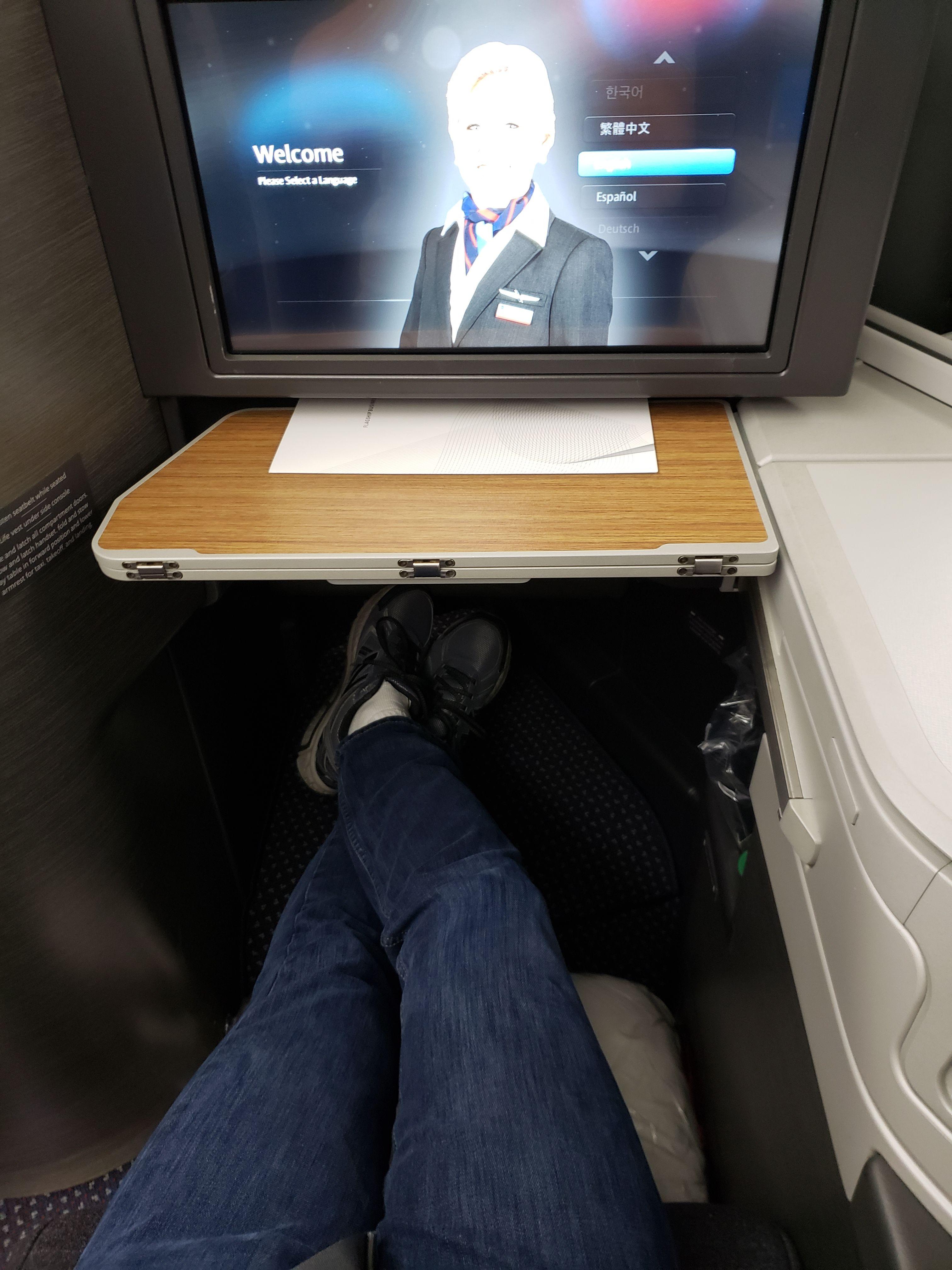 Volando a París en Business class