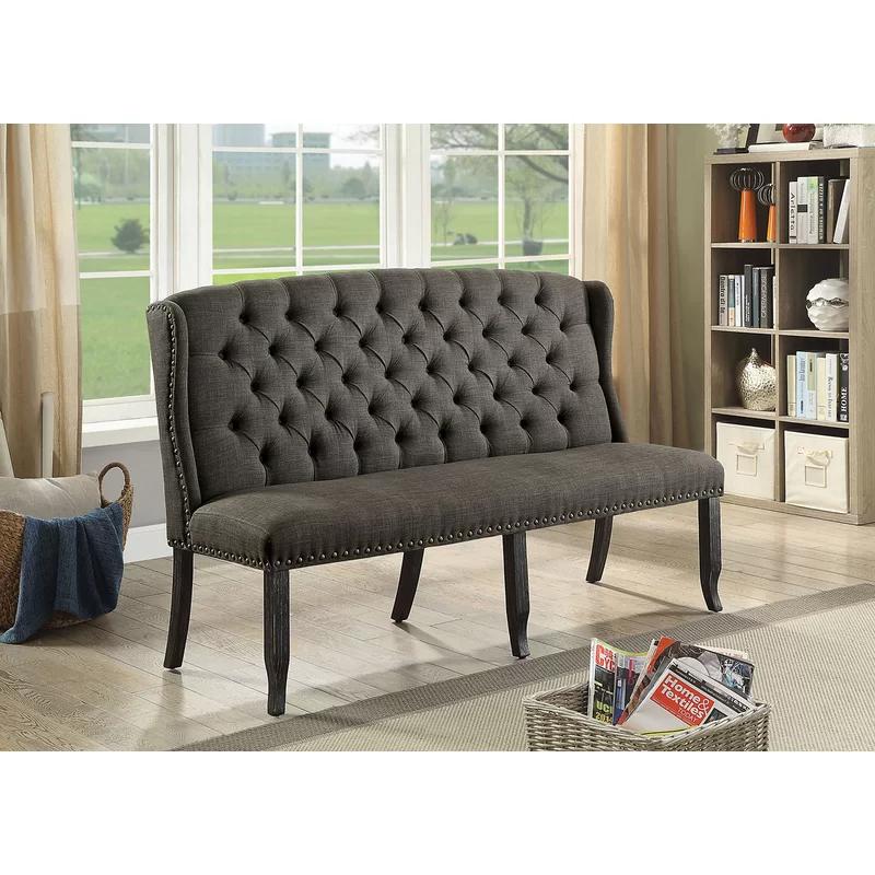 Teresa Upholstered Bench   Furniture, Love seat ...
