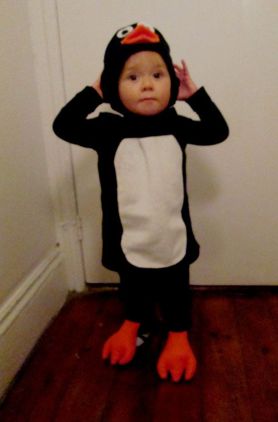 Child S Penguin Costume In 2019 Penguin Costume Diy Baby