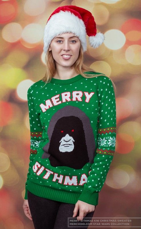 Star Wars Merry Sithmas Knitted Unisex Christmas Sweater in 2018