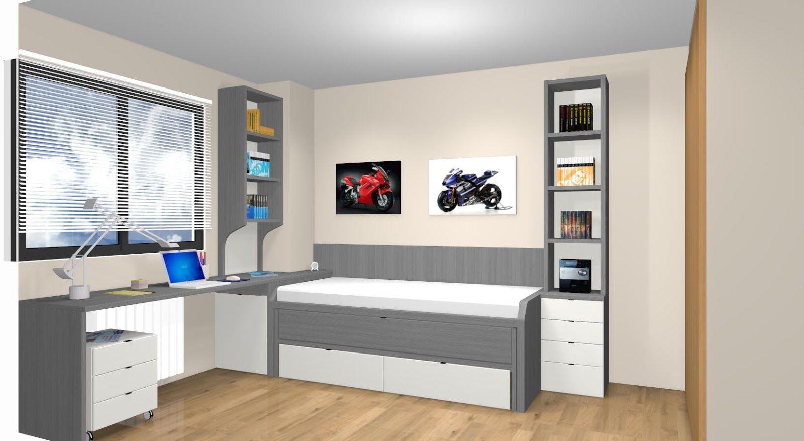 Dormitorios Juveniles A Medida En Madrid Proyectos De Decoracion  ~ Dormitorios Infantiles A Medida