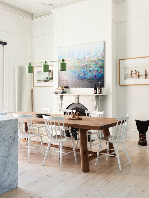 Kicking off our top ten homes of with  beautifully renovated grand victorian in coburg also james tutton mix it up dining room design interior rh au pinterest