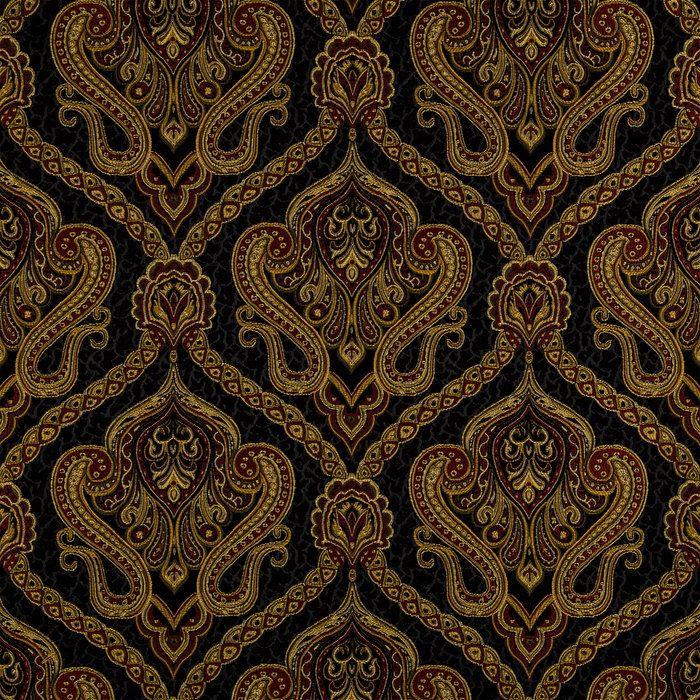 Black Red Chic Cheetah Home Decor Fabric Fabric Pinterest