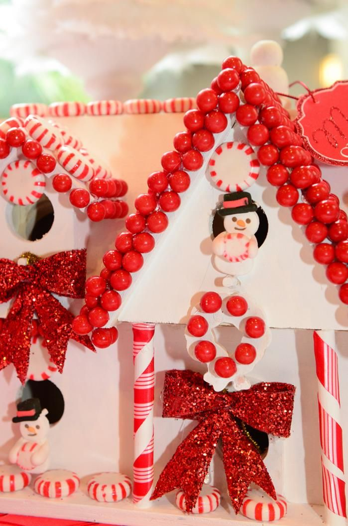 Candy Cane Party Decorations Reindeer Noses & Candy Cane Tubes Idea  Christmas Goodies