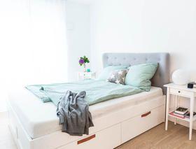 Ikea Hacks So Machst Du Deine Mobel Zu Einzelstucken Brimnes Bett Zimmer Diy Bett