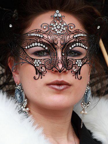 Masquerade Masks On People