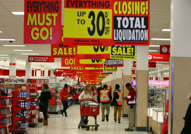 Target Canada Closing