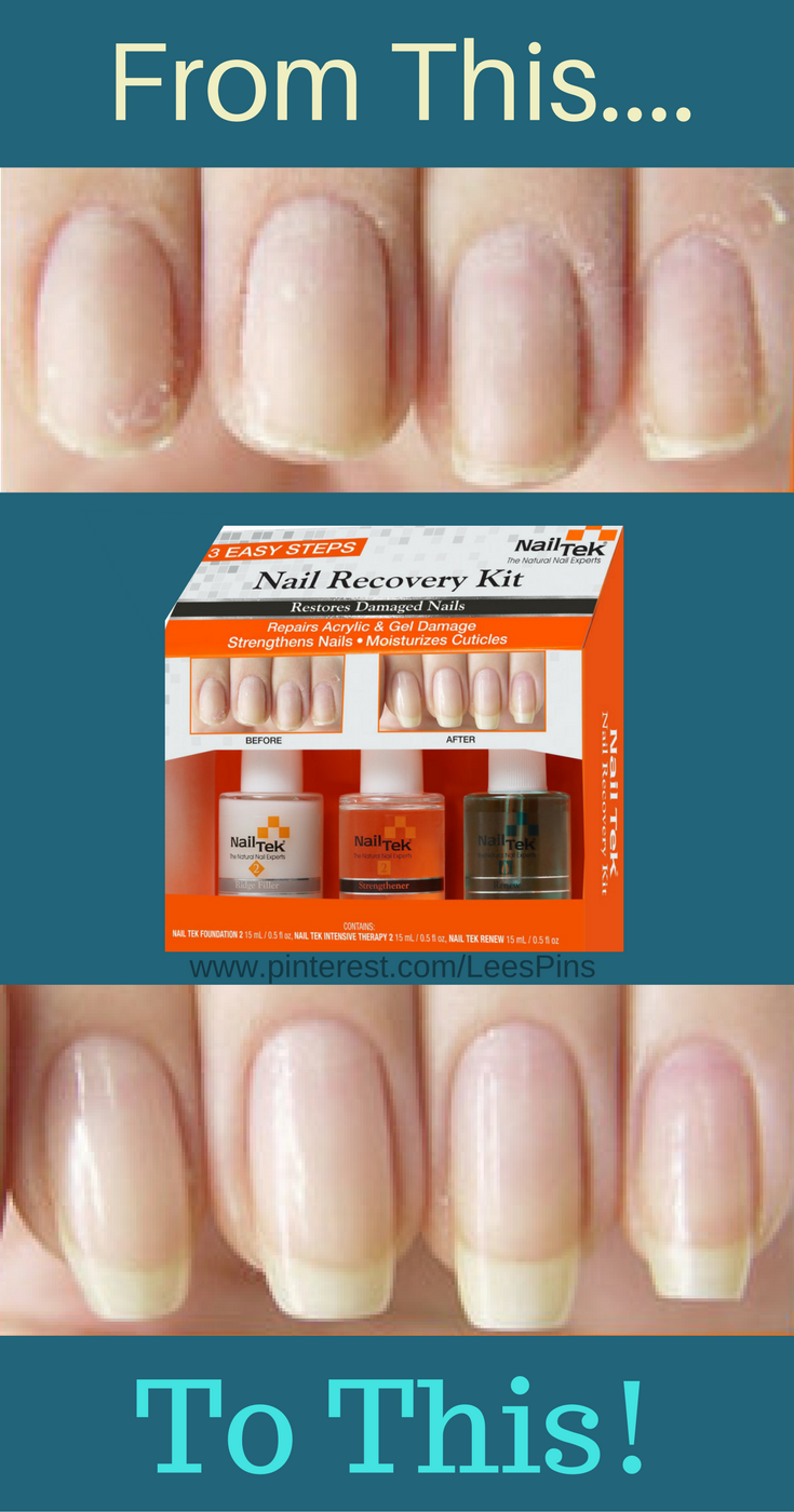Restore Damaged Nails -Nail Tek are the the Natural Nail Experts. It ...