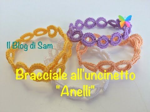 cheap for discount 8eb31 593af Tutorial 6. * Bracciali Fiore * Simil - Cruciani . How to ...
