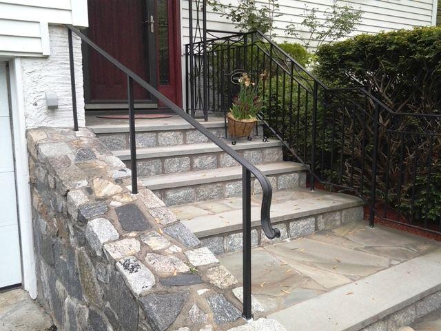 Best Basic Wrought Iron Handrail Metal Stair Railing Wrought 400 x 300