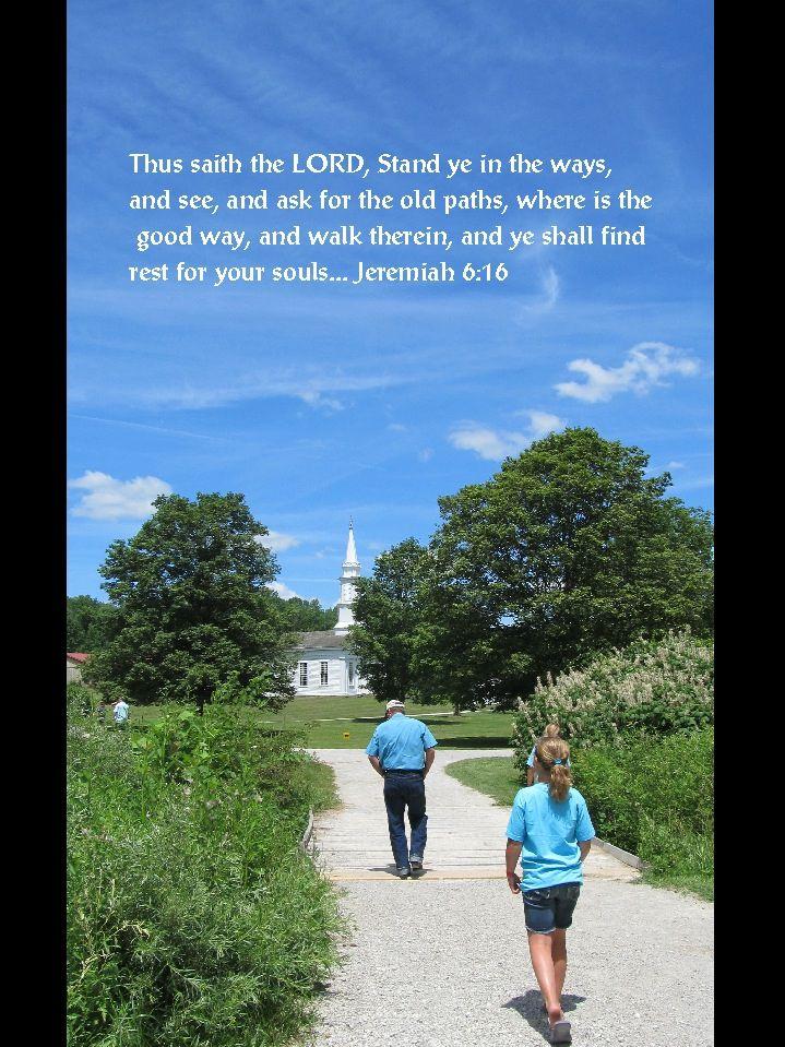 Jeremiah 6 kjv