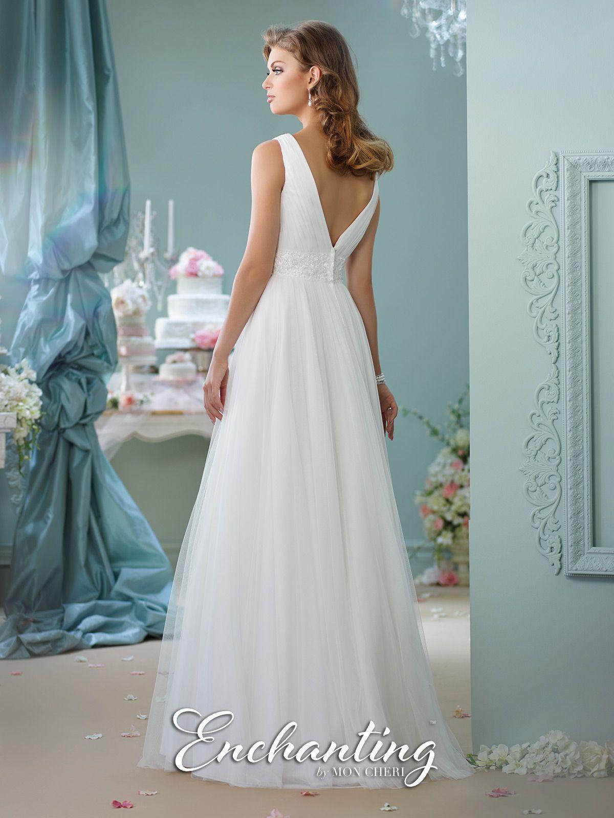 Modern wedding dresses by mon cheri wedding pinterest