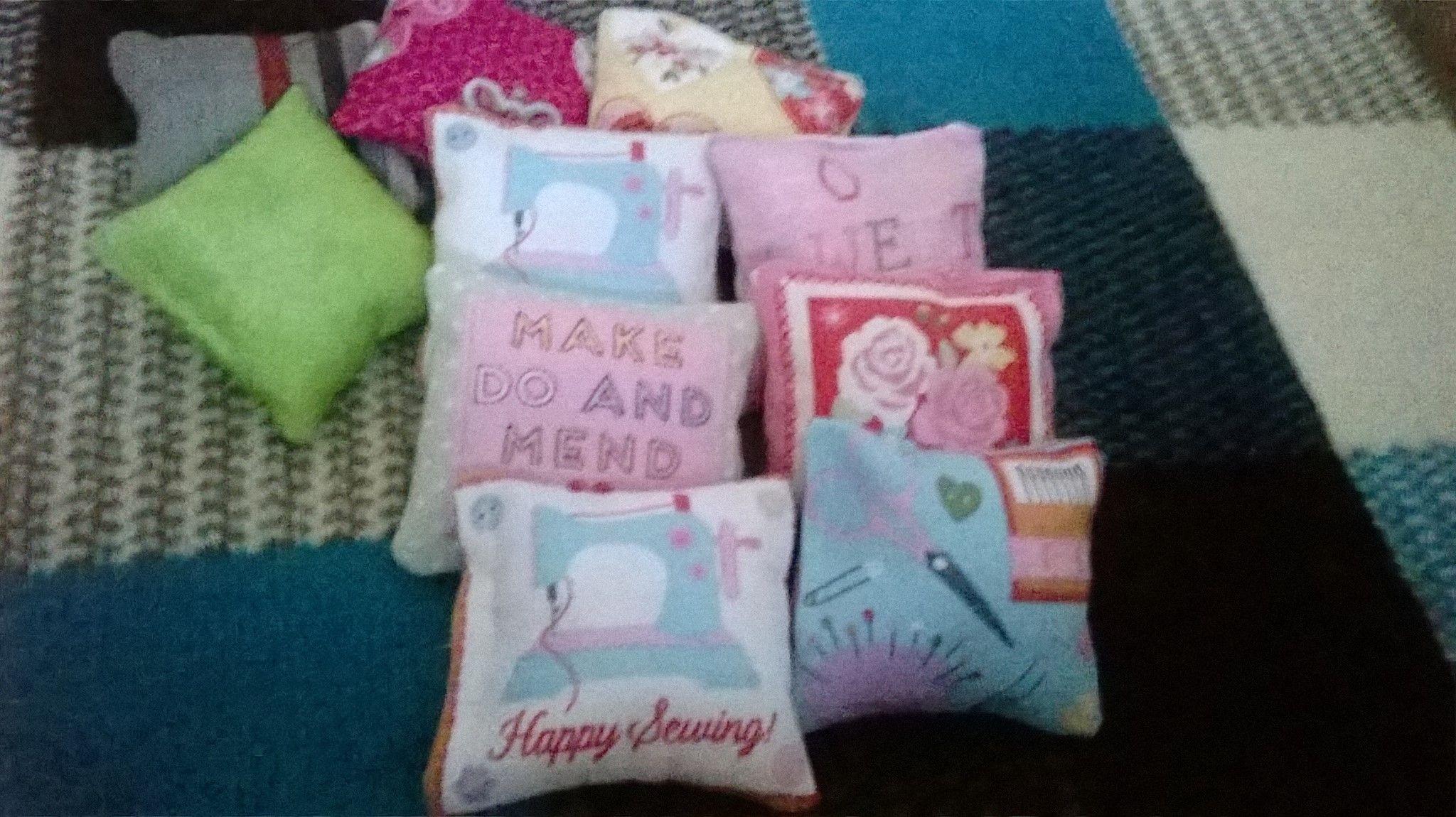 Catnip pillows handmade by myself