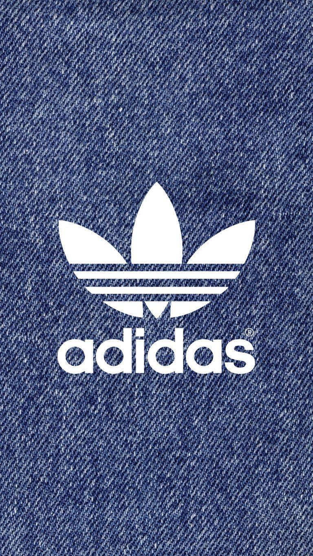 デニム アディダスロゴ Adidas Logo2 アディダス壁紙 アディダス