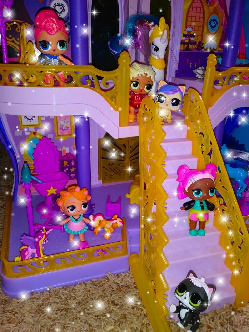 Lol Surprise Doll House My Daughter S Lol Surprise Doll House