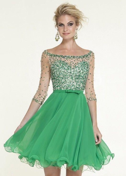 hemsandsleeves.com cocktail dresses with sleeves (13) #cutedresses ...