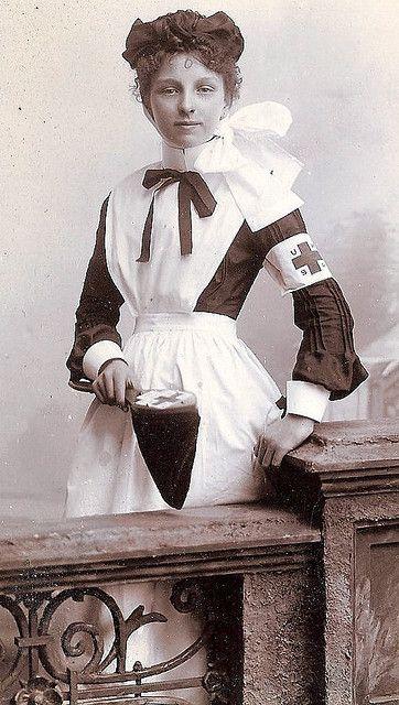 9fb8ea19e67 Nurse found | Steampunk | Vintage nurse, Vintage photos, History of ...