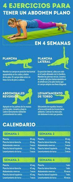 rutina de ejercicios para adelgazar la panza
