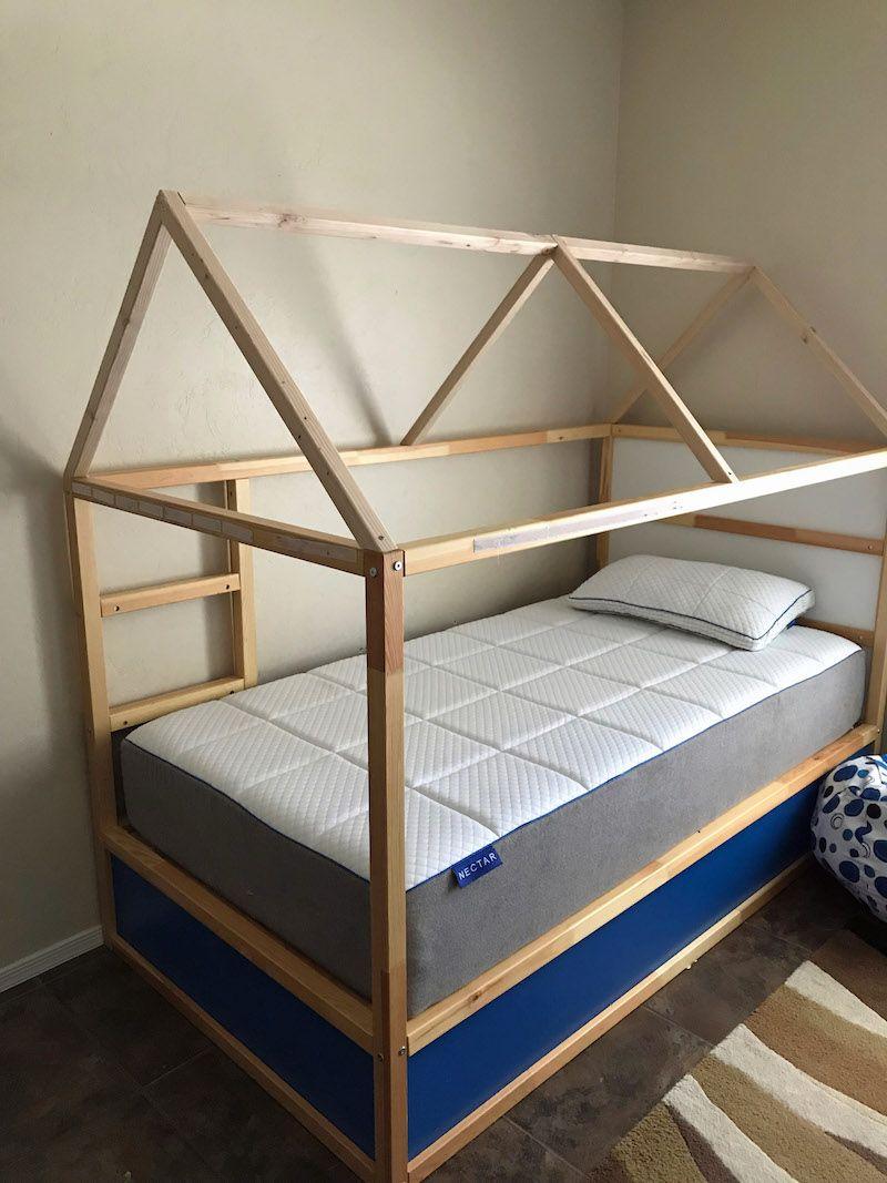 How To Turn An Ikea Kura Bed Into A Fun Bed Tent Ikea Kura Bed Bed Tent Kids Bed Tent