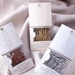Ornamental Paper Clips