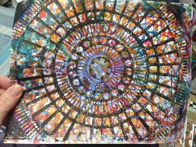 gelli plate techniques | ... Gelli Plate Technique / Inky Obsessions Patti Parrish my gelli plate