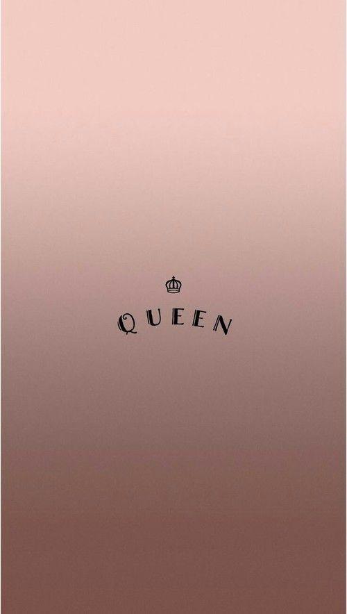 Phonewallpaper Queen Rosegold Pinterest Carriefiter 90s