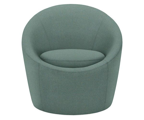 Celeste Swivel Chair in Darin Fabric - Chairs - Living - Room & Board