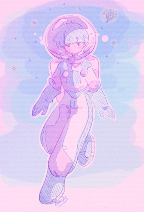 Space Boy by on DeviantArt Cute