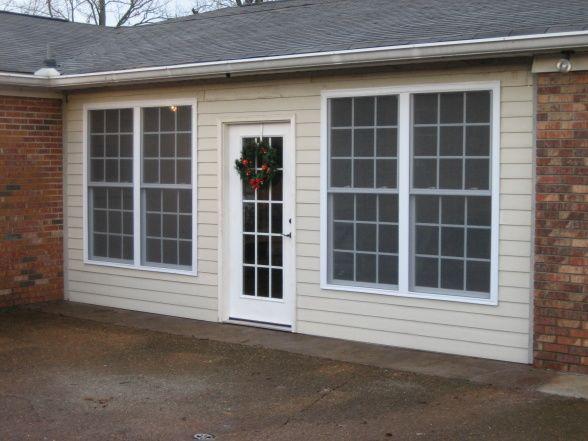 Carport Converted To Sunroom Contemporary Garage Doors Garage Conversion To Family Room Garage Doors