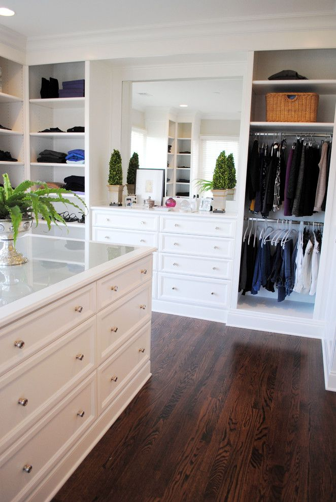 Built In Closet Design Closet Traditional Designing Tips With White Crown  Molding Recessed Lighting