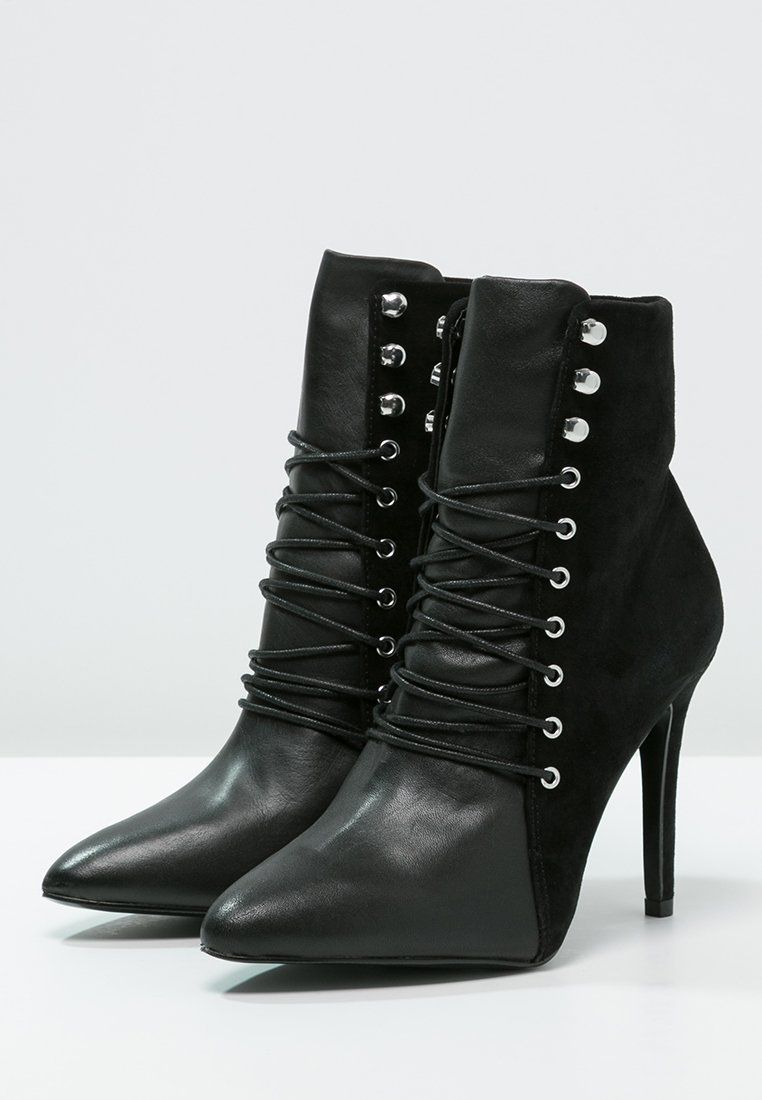 BELove ZARCONE ZALANDO ALDO Bottines à lacets black ZikuOPX