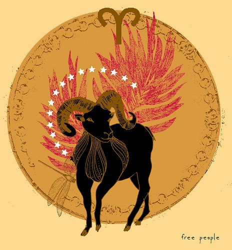 Aries, of fire and free will