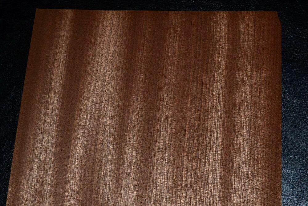 Sapele Ribbon Stripe Wood Veneer Sheets 6 5 X 44 Inches 1 42nd Thick 8635 19 Rawwoodveneer Wood Veneer Sheets Wood Veneer Sapele