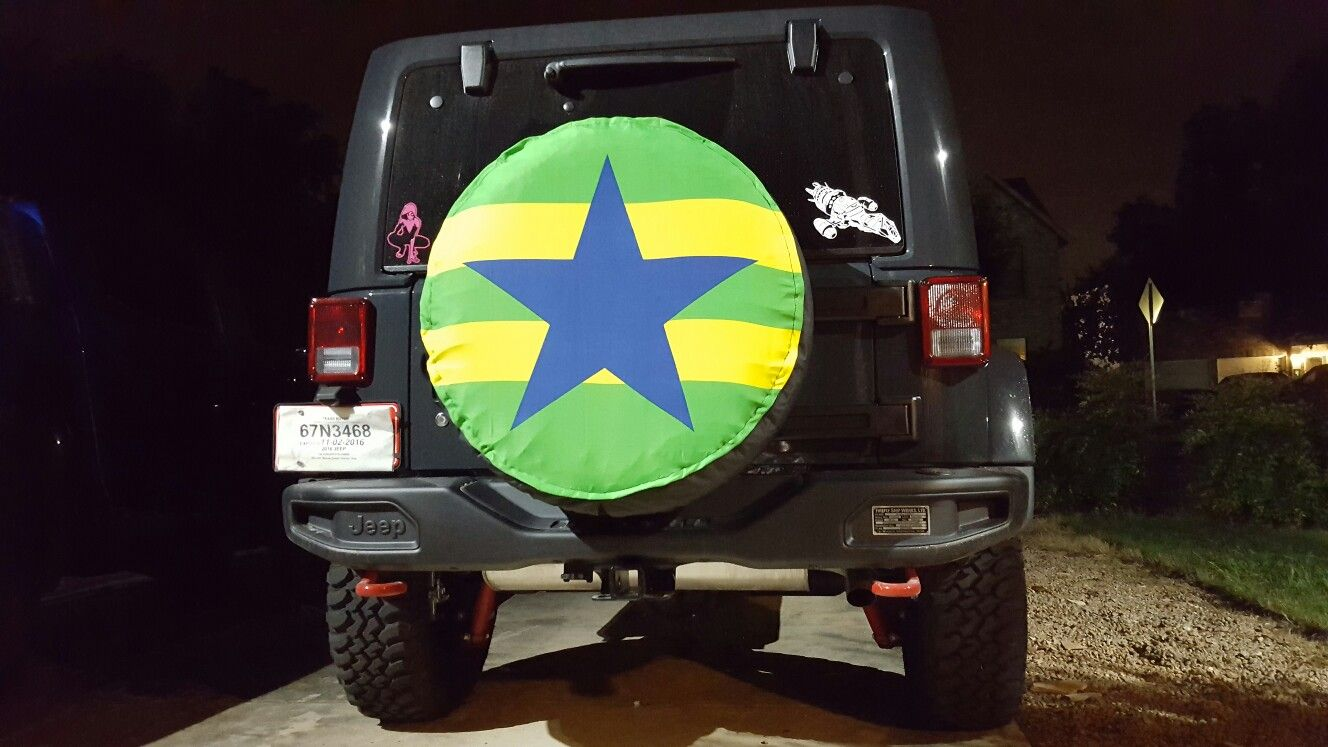 Step 6 Do It Yourself Firefly Serenity Tire Cover For My Jeep I
