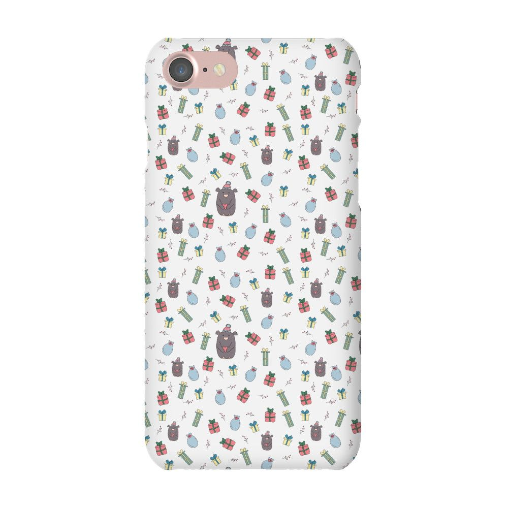 Christmas Gifts Phone Case White iPhone 7 Snap Case Gloss   Phone ...