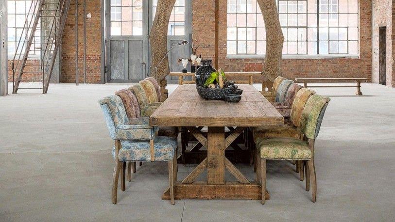 Table de ferme, table ancienne, table en bois naturel, table ...