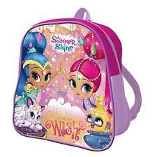 Shimmer And Shine Backpack Rucksack Junior School Bag Nursery Travel Genies Ebay