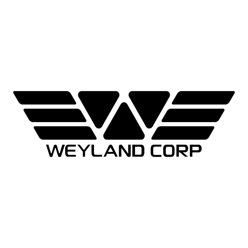 Weyland Corp Logo Decal by AdMundusImperet on Etsy