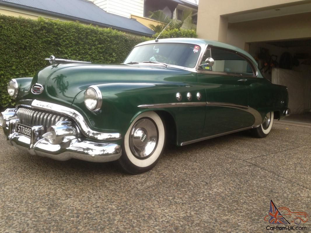 1952 Buick Straight 8 Pillarless 2 Door Coupe Classic Cars