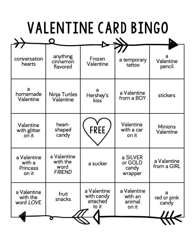 photograph relating to Printable Valentines Bingo named Valentine Card Bingo Absolutely free Printables!! Valentine bingo