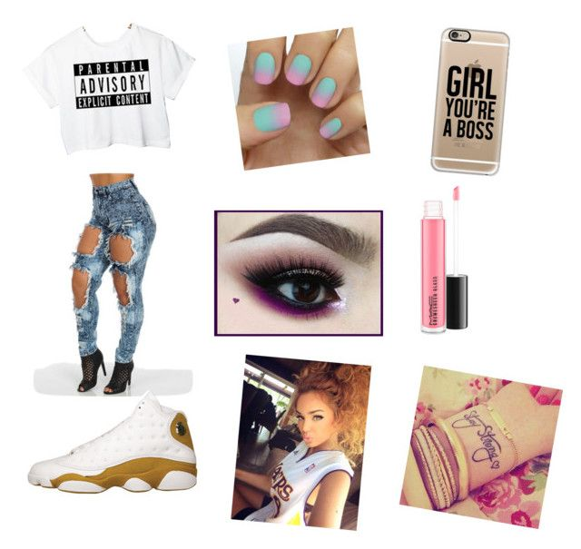 """""""Baby girl you a boss"""" by kay-kay-so-fine on Polyvore featuring beauty, Casetify and MAC Cosmetics"""