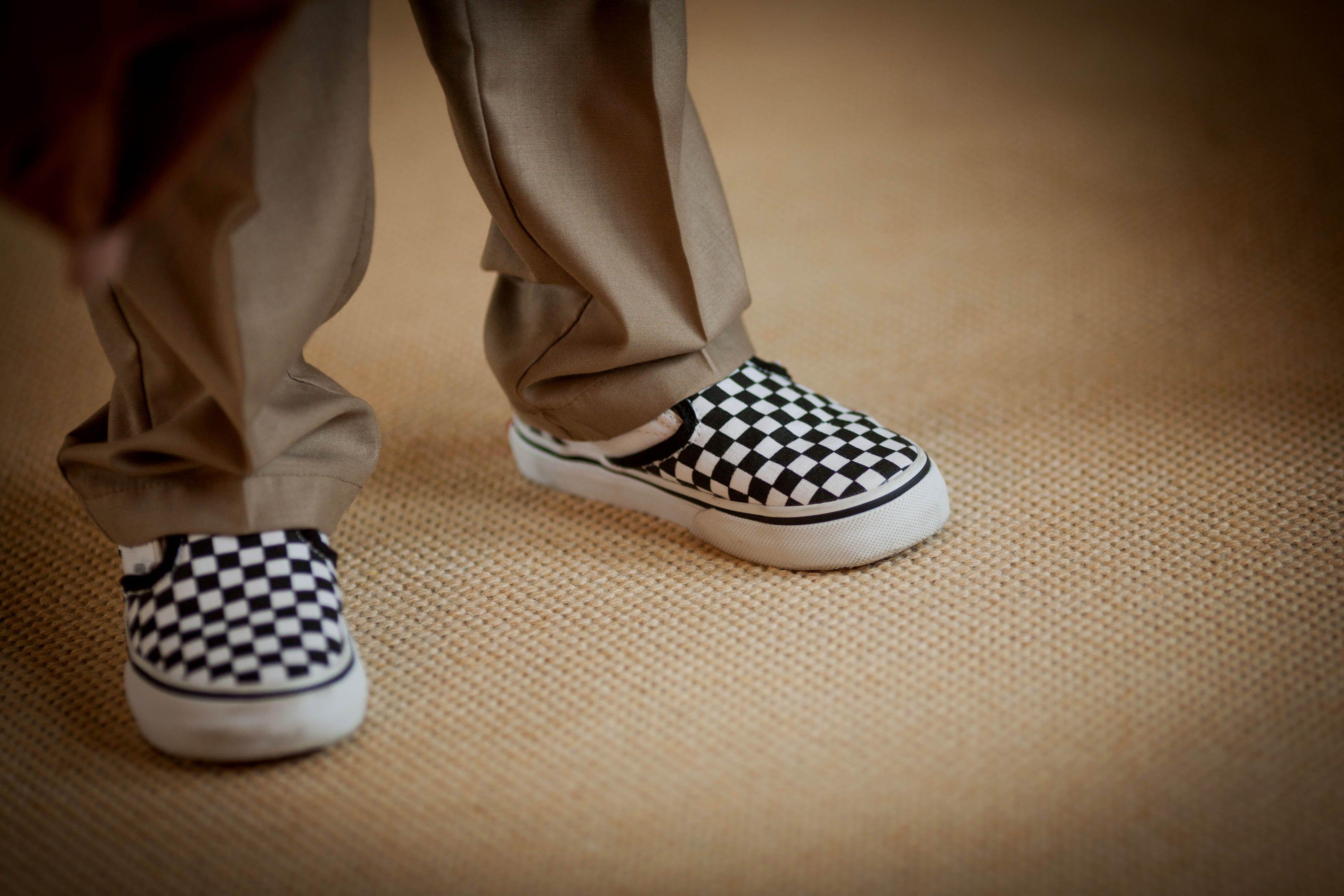 Ringbearer casual footwear