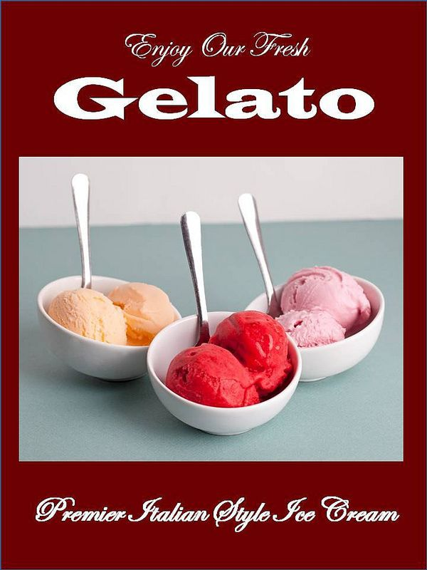 Our gelato is made from a genuine Italian recipe with authentic and fresh ingredients.
